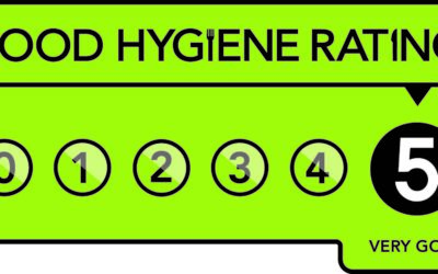 We have achieved a Maximum 5 for our Hygiene Rating